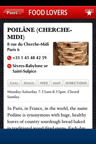 best Paris restaurant app...
