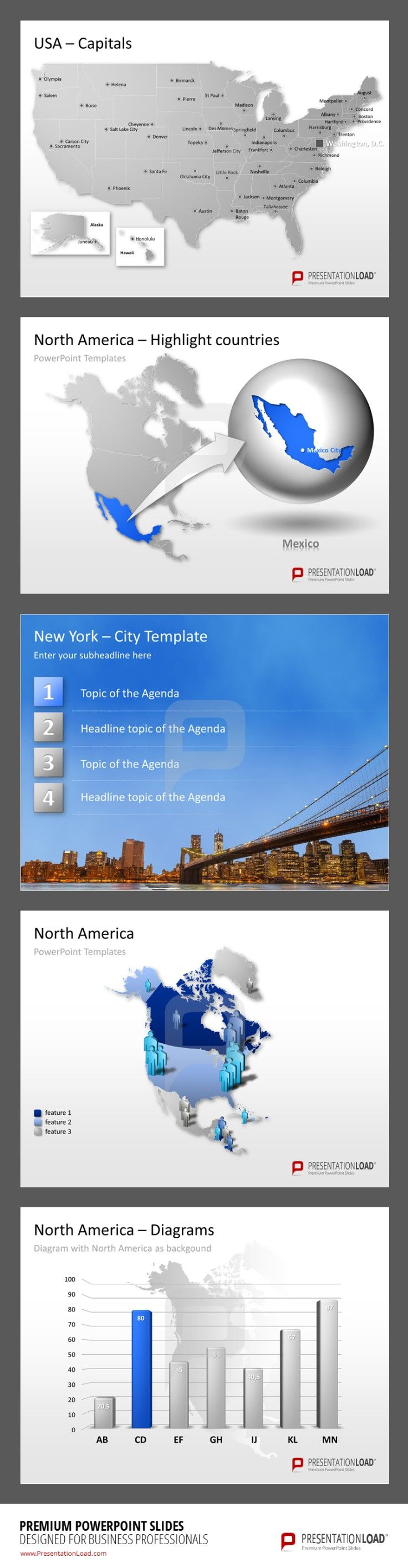 Best Images About MAPS  POWERPOINT TEMPLATES On Pinterest - Map of united states for powerpoint presentation