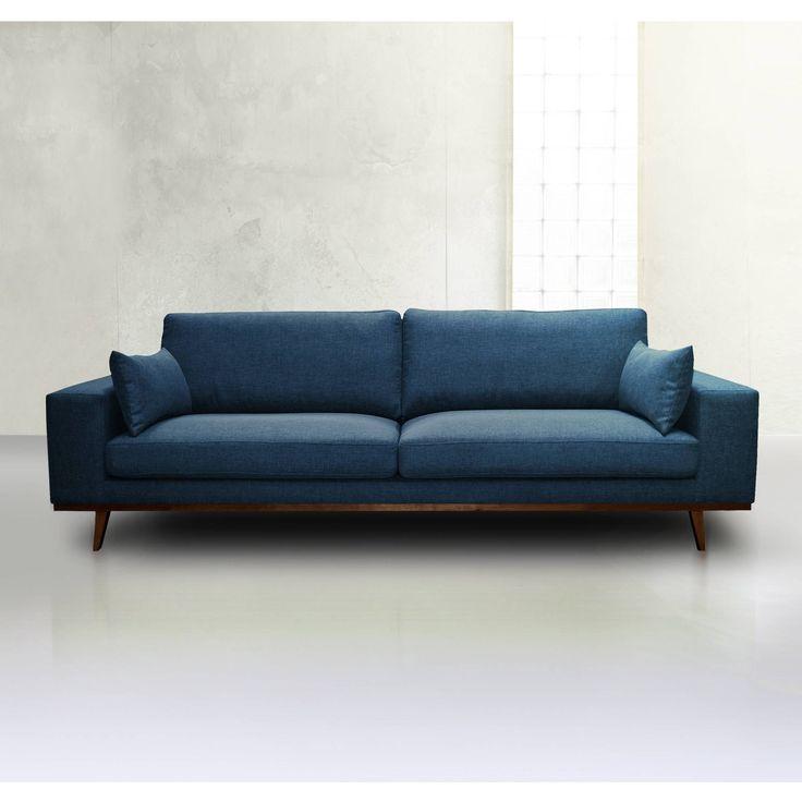 556€ Canapé en tissu Fixe TORINO - 3 Suisses