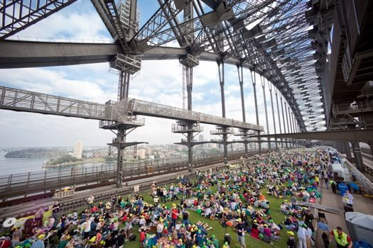 Enjoy 'Breakfast on the Bridge' during the Crave Sydney Food Festival (October)