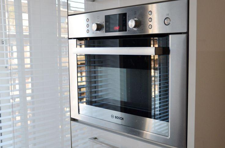 Bosch oven in design kitchen.