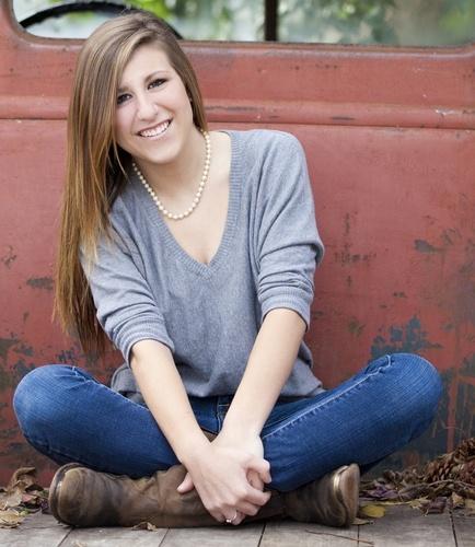 senior picture idea.