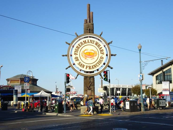 Fisherman's Wharf in San Fransisco
