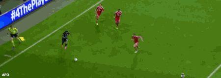 champion ligue Bayern vs. MU goal Evra