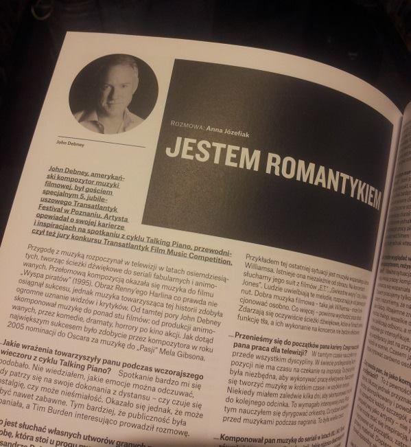 ohnem Debneyem about Transatlantyk 2015, FilmPro // #pgnig #PGNiG #lodz #transatlantyk