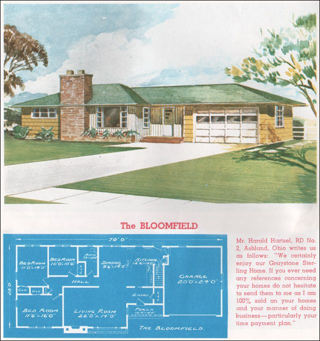 1962 sterling homes the bloomfield