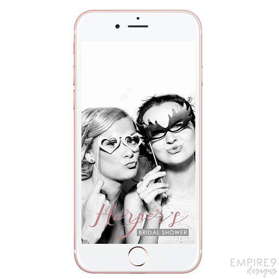 Snapchat Bridal Shower Filter Bachelorette Party Snapchat
