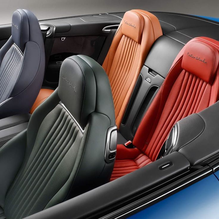 Each Seat In The #BentleyByBlake #Continental GT V8 S