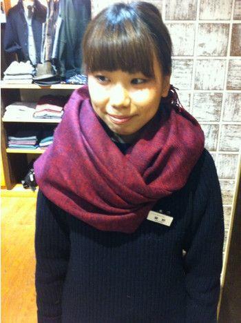 この冬必見!ショップ店員おすすめのストールの巻き方アレンジ10選 - M3Q - 女性のためのキュレーションメディア