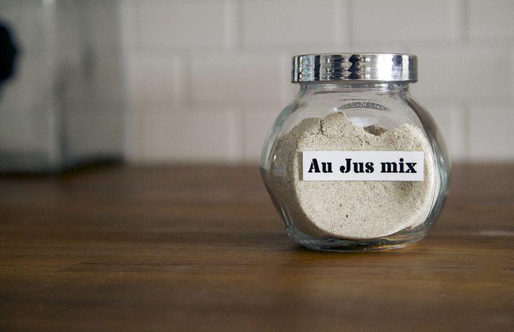 how to make pork au jus sauce