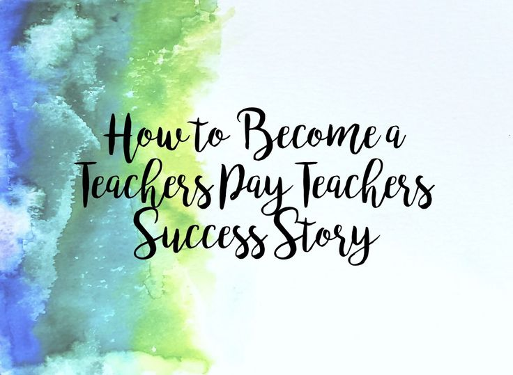 How to Become a Teachers Pay Teachers Success Story