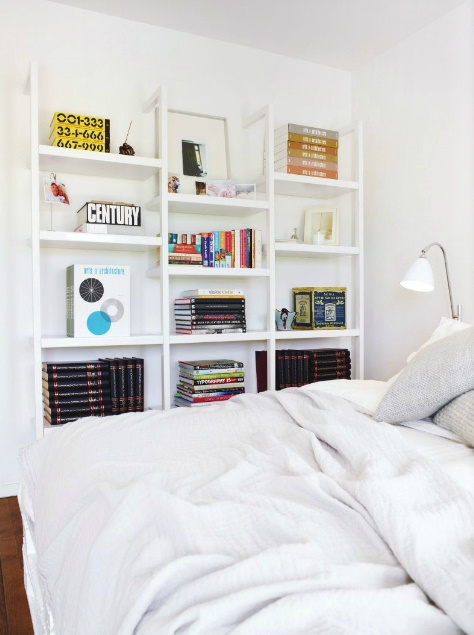 .Favorite Places, Bedrooms Storage, Guest Bedrooms, Whiteonwhit Bedrooms, White Bedrooms, Master Bedrooms, Bedrooms Wall, Bedrooms Shelves, Shelves United