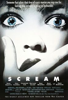 "Horror Top 10 | #4 Scream (1996) – ""Don't answer the door, don't leave the house, don't answer the phone, but most of all, don't SCREAM."""