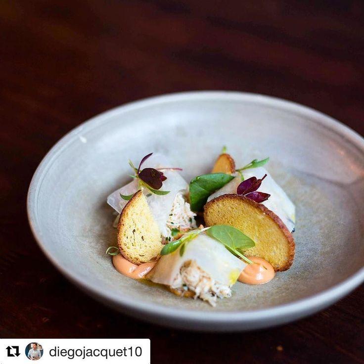 #Repost @diegojacquet10 with @get_repost  Cornish crab humita norteña picked kohlrabi & sorrel from @zoilolondon menu #londonfoodie #chefsofinstagram #zoilo #crab #cornwall #foodphotography #foodie #chef #chefslife #london #argentina