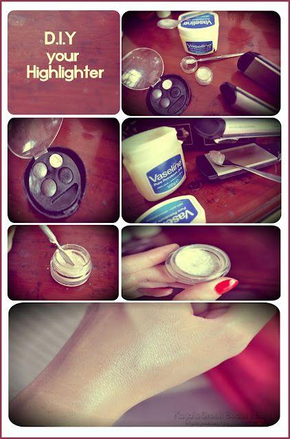 Vaseline DIY your own high liter