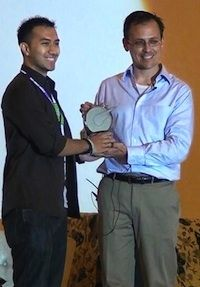 Rising Star award received by the CEO of Valadoo, Jaka Wiradisuria. Read our latest article about WIT conference 2013