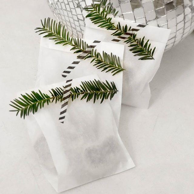 Plätzchennaschen in Tüten I Verpackung I Packaging I Plätzchen to Go I Plätzchentüte I kleines Geschenk I es weihnachtet sehr I Kekse I minzastisch weihnachtlich I Minza will Sommer