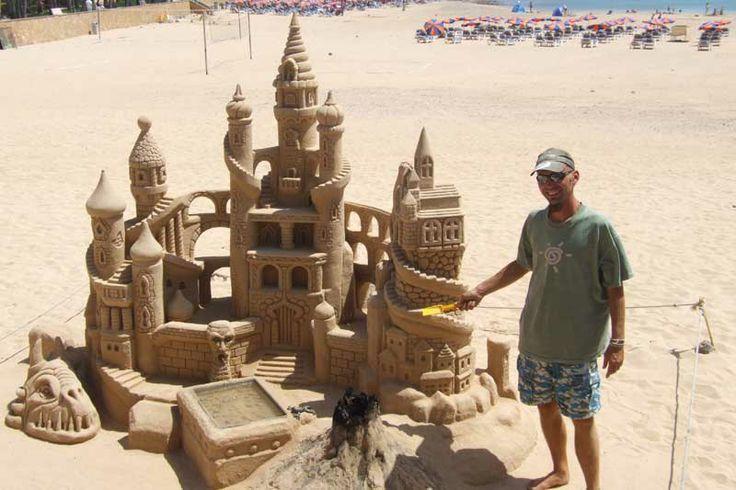 fuerteventura corralejo sand sculptures - Google Search