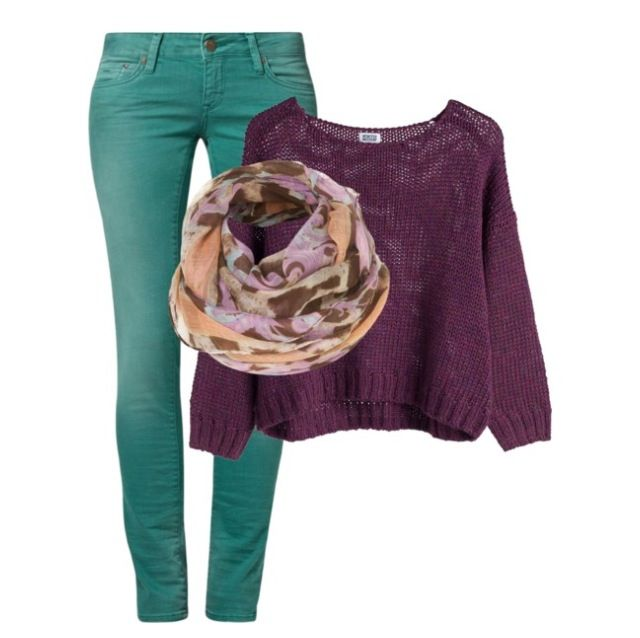 School outfit --polyvore