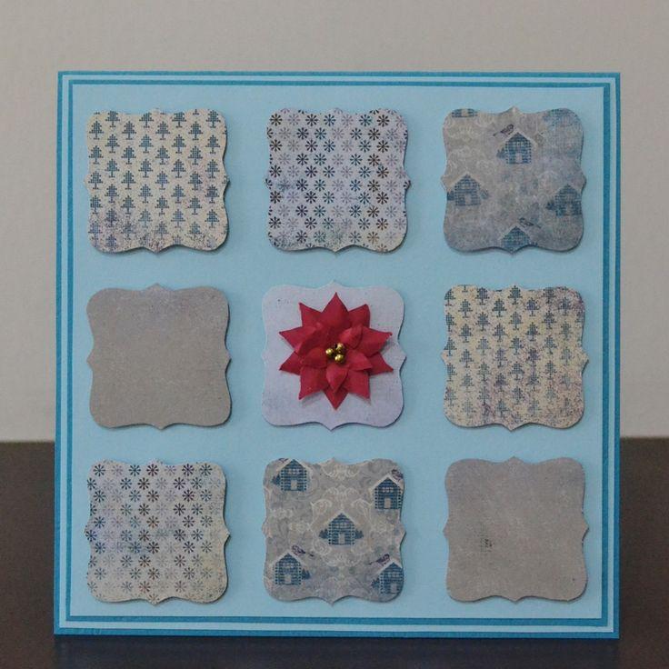 15x15cm christmas card