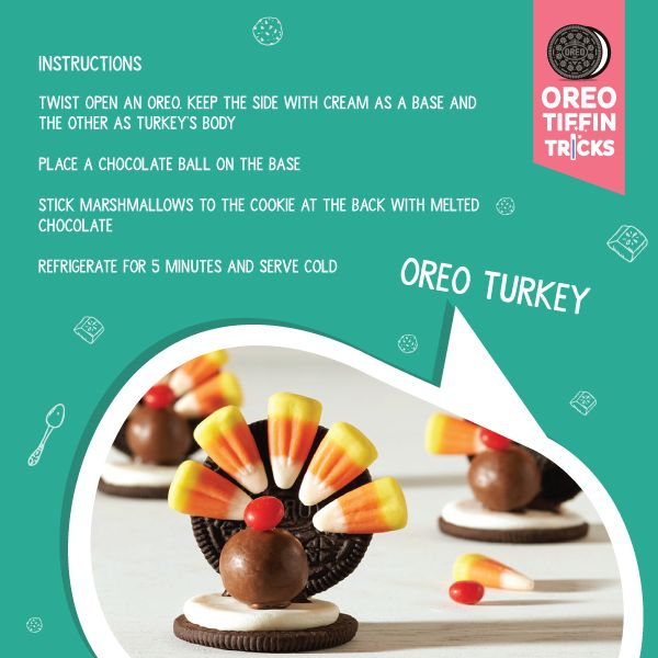 How about trying a turkey with a twist. Get more amazing recipes at bit.ly/1XG5Xxd #OreoTiffinTricks