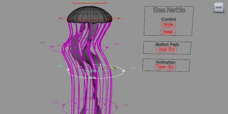 Jellyfish Rig in Maya