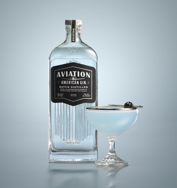 Aviation Gin - The Dieline PD