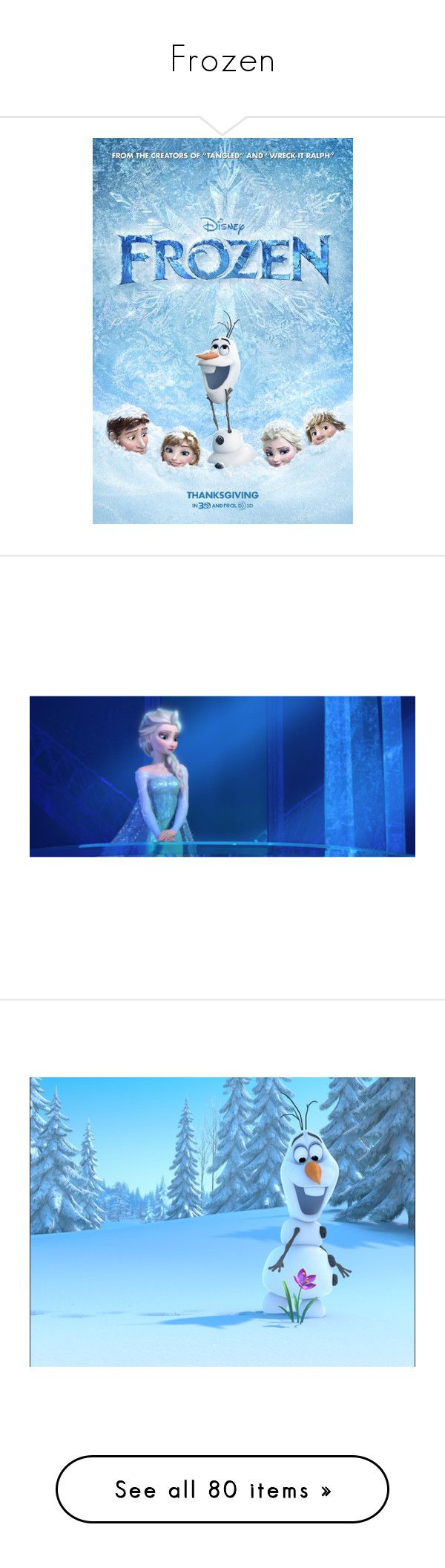 """""""Frozen"""" by thequeenofreading ❤ liked on Polyvore featuring disney, frozen, pictures, backgrounds, movies, extras, fillers, elsa, photos and home"""