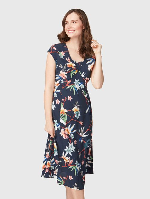 Bonita Mit Bestellen Jetzt MusterNavy46 Kleid Floralem Unter AR4c3q5jLS