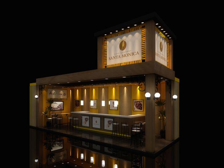 CAFÉ STA MONICA - EXHIBITION DESIGN