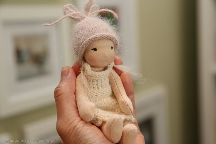 """She likes chic, shabby, pink and cream. And she's head over heals about what I plan to make her. We'll see if I can pull it off. (Giggles) Doll Crafting-6.jpg Doll Crafting-5.jpg In Design, Making, 6 """" Wee-Bee Mini Elfcup Tags 2015.03.01 The Beauty of Doll Making..... Comment 3 Likes ← Newer Posts Older Posts → Subscribe to Blog  Need help finding something?  Join me on: Facebook Pinterest Flickr Instagram Baby Amandina and Juju Bunny are available for purchase at Dollectabl..."""