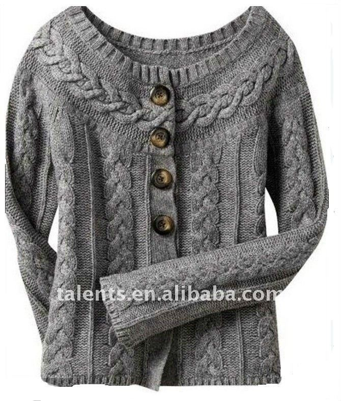 pure wool button up sweater- love this!