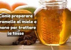 Preparare caramelle al miele e limone per trattare la tosse