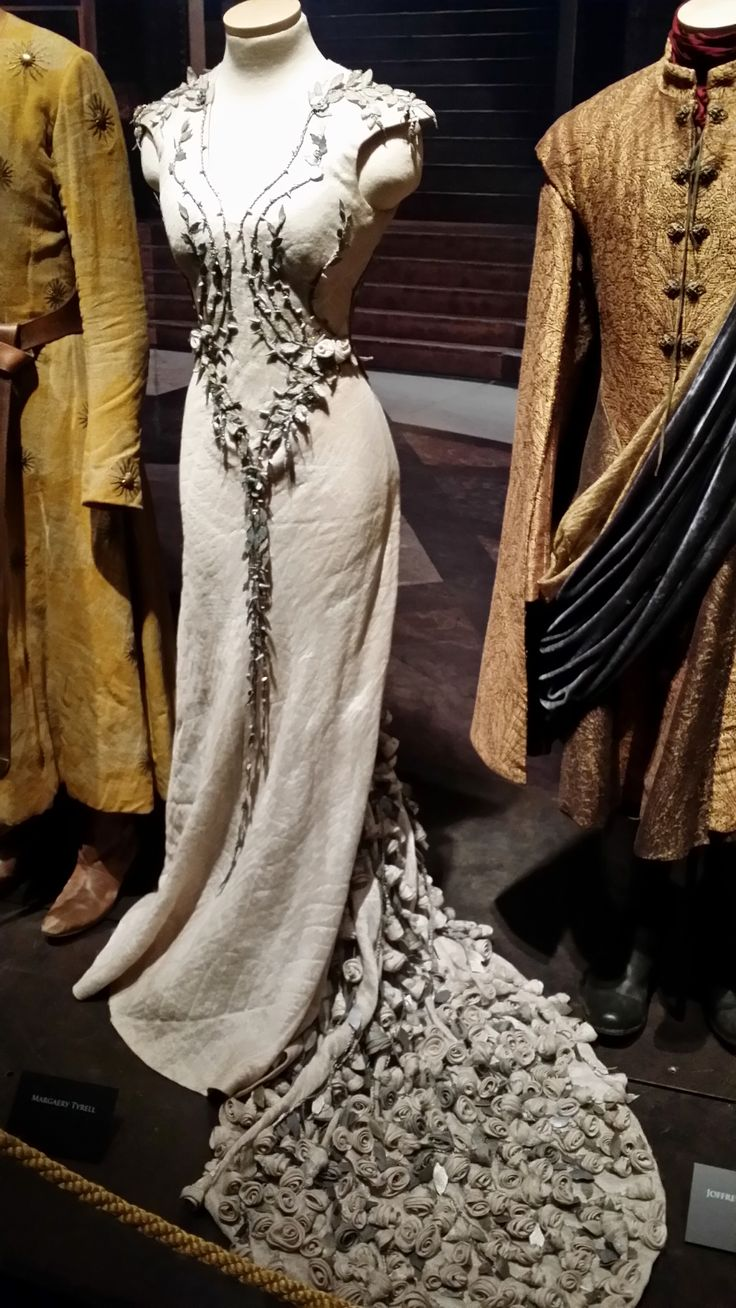 Wedding of King Joffrey to Margaery Tyrell Game of Thrones - Costumes designer Michele Clapton