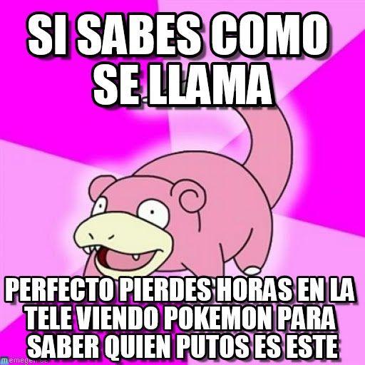 Slowpoke meme (http://www.memegen.es/meme/gq5i7e)