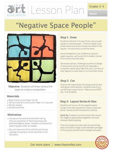 96 Best Images About Art Class Space Positive Negative On Pinterest Middle School Art