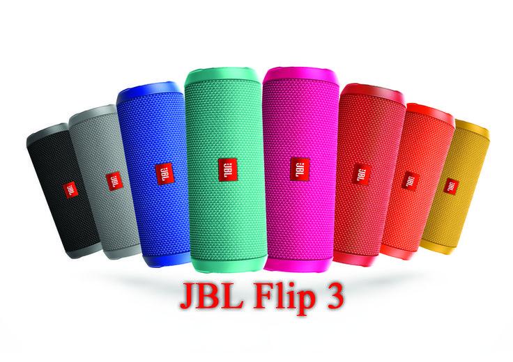 Boxa portabila JBL Flip 3 – Sunet de buna calitate in orice situatie! Difuzoarele boxei au o putere reala RMS de 2x8W si baterie reincarcabila de 3000 mAh Lithium-ion polymer.  viewnews.ro