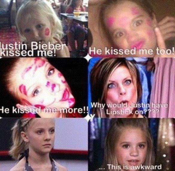 Ummm. Yeah hi umm, because Justin Bieber is a girl.