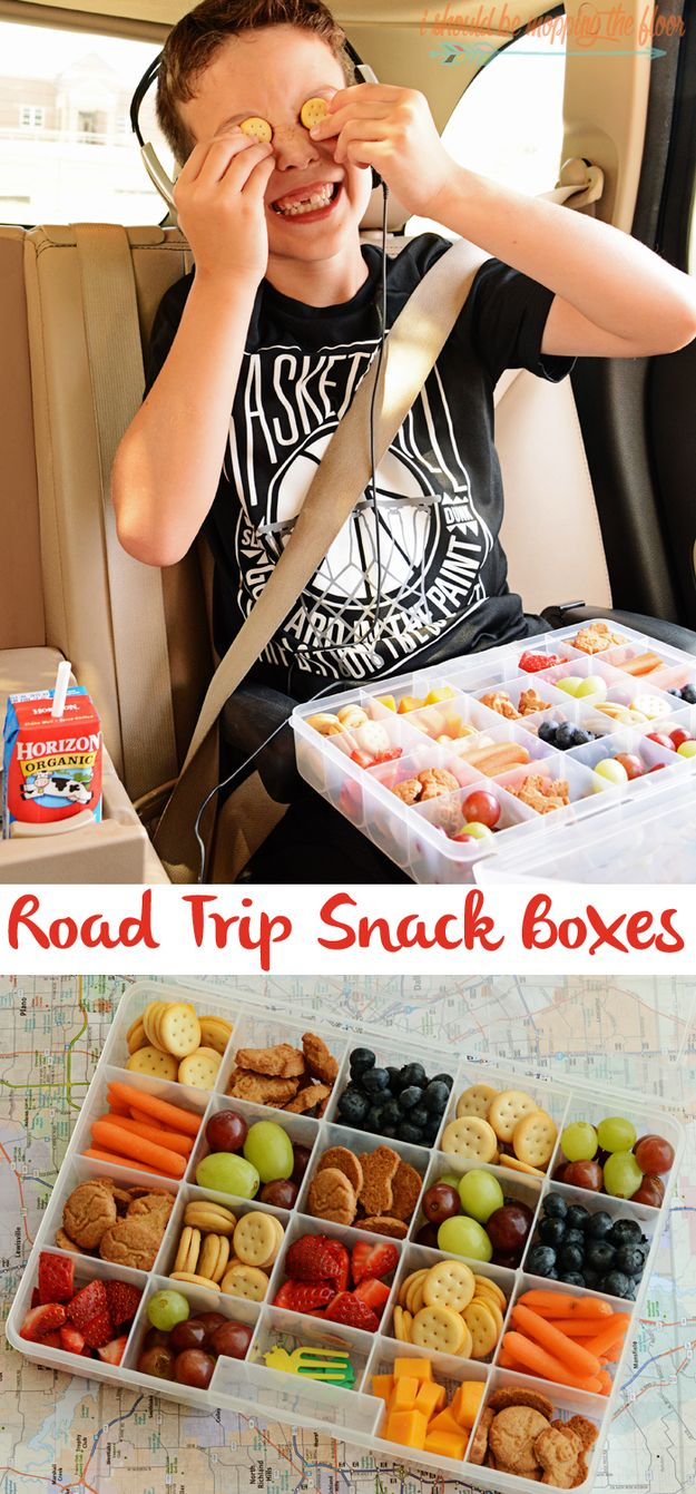 Road Trip Snack Boxes | 17 Easy Campfire Treats Your Kids Will Love