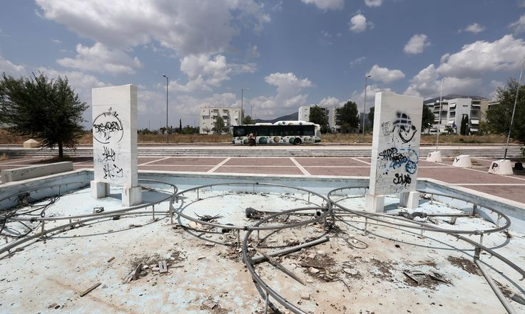 Abandoned Athens Olympic 2004 venues, 10 years on – in pictures