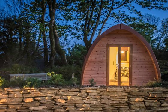 5 Irish Glampsites We'd Gladly Pitch Up To