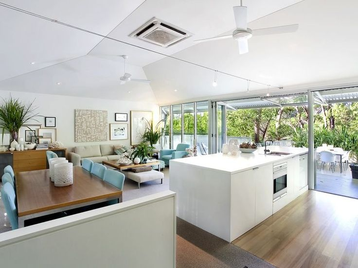 Beige dining room idea from a real Australian home