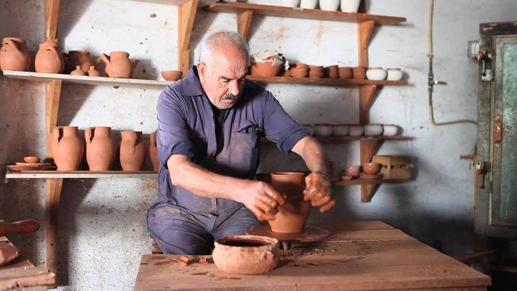 Paisagem Sonora, Roda de Oleiro manual, Mestre Caturra on Vimeo
