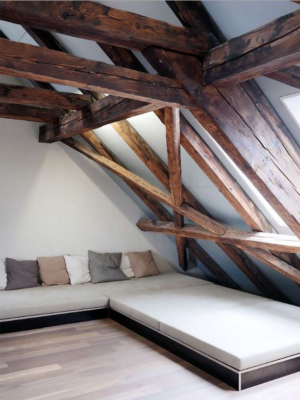 Umbau Scheune Meisenrain / Einbau eines Einfamilienhauses in eine Scheune, Denkmalschutzobjekt Gockhausen 2007 | atelier neuenschwander