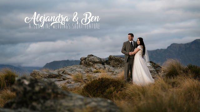 Alejandra and Ben's romantic elopement wedding in Queenstown, New Zealand  Planning, photography and film by Sunshine Weddings  www.elopementweddings.co.nz
