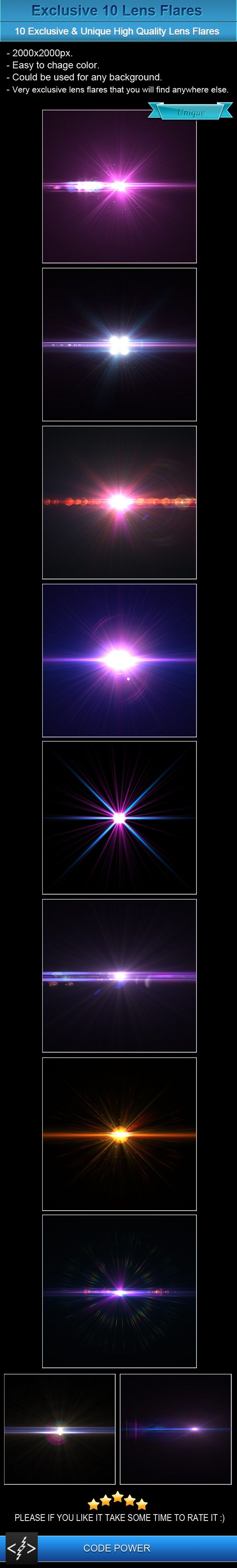 Exclusive 10 Lens Flares by khaledzz9 on DeviantArt