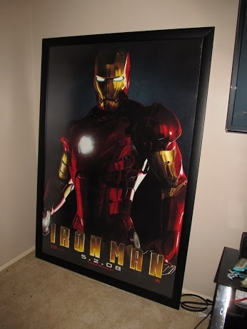 Thanks Dave! Iron Man Bus Shelter Frame!