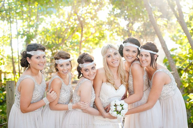 Absolutely love these blush bridesmaid dresses! ~Sydney wedding photography by Yulia Photography~ www.yuliaphotography.com.au