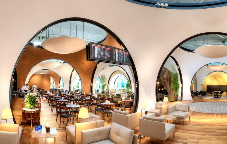 Istanbul Ataturk Airport CIP Lounge by BERLINE - Fine Interiors