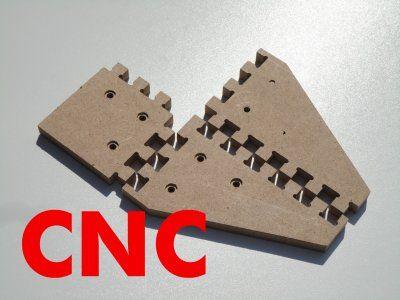 Detale Frezowane CNC MDF Dekiel Panel Element DIY